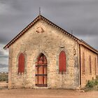 Methodist Church, Silverton, NSW by Adrian Paul