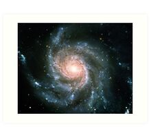 Whirlpool Galaxy Original | Fresh Universe Art Print