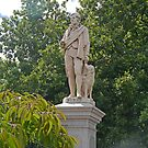 Statue of Robert Burns, poet, Ballarat, Victoria, Australia by Margaret  Hyde