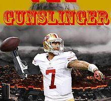 KAEP THE GUNSLINGER by 49ersartist