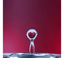 love in a drop Photographic Print
