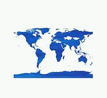 sdd World Map 1J by mandalafractal