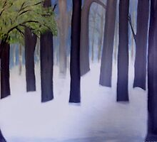 Fog and Mist in the Forest by artbyengels