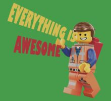 Everything is Awesome! - The Lego Movie by Mark  Mazzone