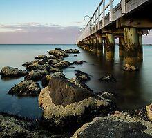 Lagoon Pier by Timo Balk