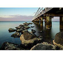 Lagoon Pier Photographic Print