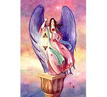 The Rose Angel Photographic Print
