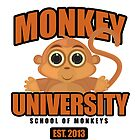 Monkey University by Adamzworld