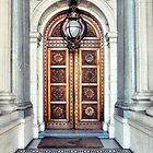 Door to Parliament by Karen E Camilleri