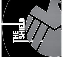 The Shield Logo - (avengers) S.H.I.E.L.D by Alessandro Tamagni
