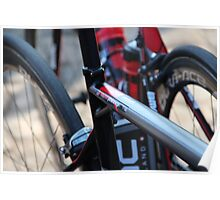 Taylor Phinney's Bike at 2013 Paris Roubaix Poster
