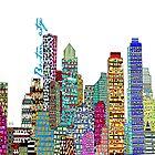 Boston city skyline by bri-b