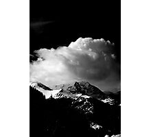 Clouds in the Rocky Mountains  Photographic Print