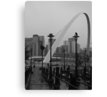 Newcastle upon Tyne Millenium Bridge, England Canvas Print