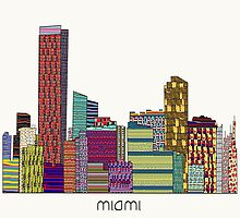 MIAMI city skyline by bri-b