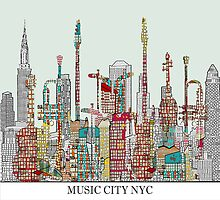 music city nyc by bri-b