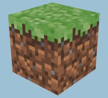 Minecraft Grass Block by ReverendBJ
