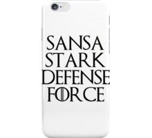 Sansa Stark Defense Force iPhone Case/Skin
