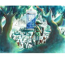 the Hero of Timey-Whimey Photographic Print
