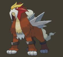Entei [Perfect Quality Vector Image] by RWHTL