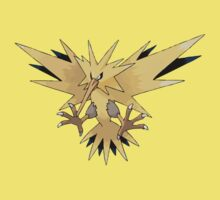 Zapdos [Perfect Quality Vector Image] by RWHTL