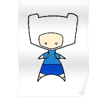 Finn Wee Star (Adventure Time)  Poster