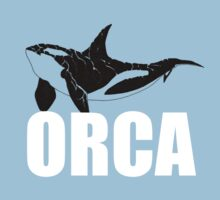 Orca (White Text) Kids Clothes