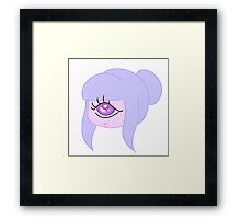 Monster Girls Need Love Too! Cyclops Edition!  Framed Print