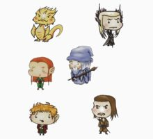 Hobbit Stickers Sheet 2 by SleepingRabbits