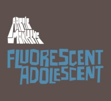 Fluorescent Adolescent - Single (Blue) by tynamite