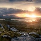 panoramic of island scene by christopher lonie