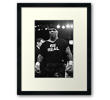 Be Real - Mike Tyson Framed Print