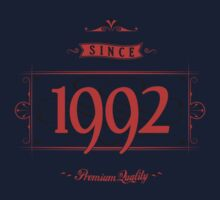 Since 1992 (Red&Black) by ipiapacs