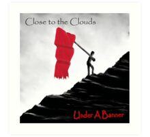 Close to the Clouds - Album cover Art Print