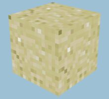 Minecraft Sand Block by ReverendBJ