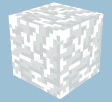 Minecraft Snow Block by ReverendBJ