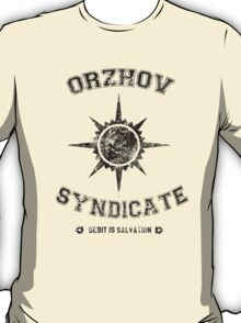 Magic the Gathering - Orzhov Syndicate T-Shirt