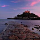 St Michaels Mount sunset by Rachel Slater