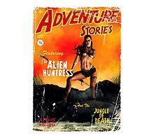 Adventure Stories the Alien Huntress Photographic Print