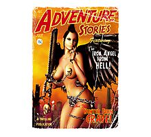 Adventure Stories the Iron Angel from Hell Photographic Print