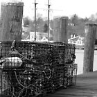 Mystic, CT: Lobster Pots by ACImaging