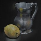 Tankard and Lemon by Alan Stevens