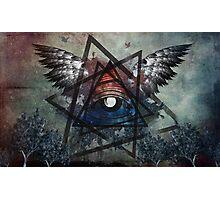 Illuminati Symbolism Photographic Print