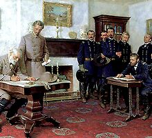 Surrender at Appomattox  by troycap
