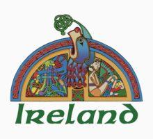Ireland - Arch Illumination I by William Martin