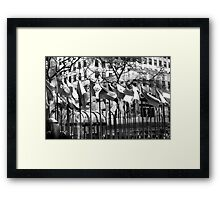 My Trust is Blowin in The Wind Framed Print