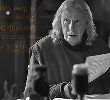 Gaius taught me... by UtherPendragon