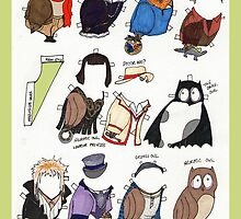 Neurotic Owl Gets Dressed by neuroticowl