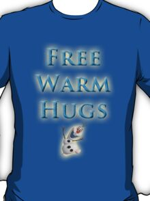 Free Warm Hugs T-Shirt