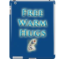 Free Warm Hugs iPad Case/Skin